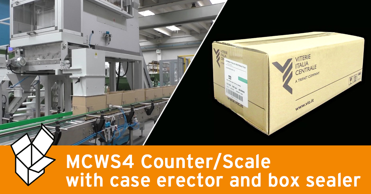 Video - MCWS4 Counter-scale and packing system for screws