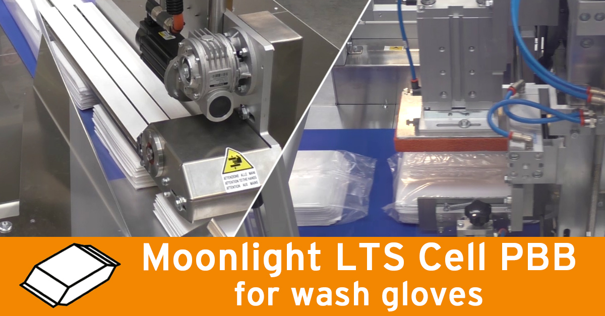 Video - Wash gloves packaging
