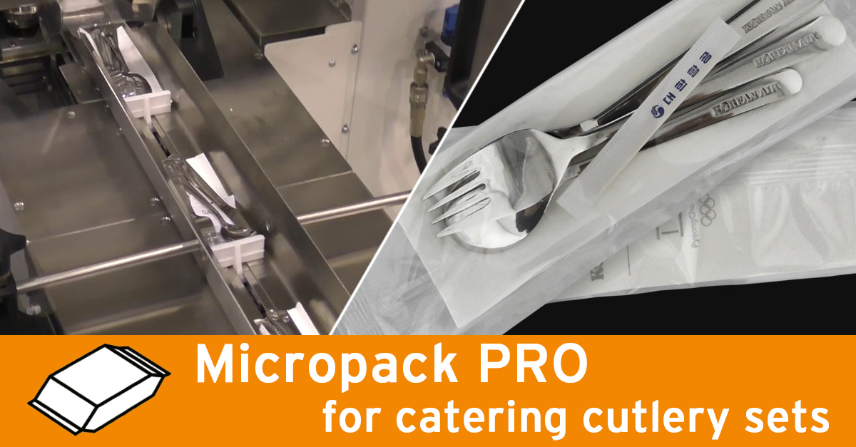 Video - Airline catering kits packaging