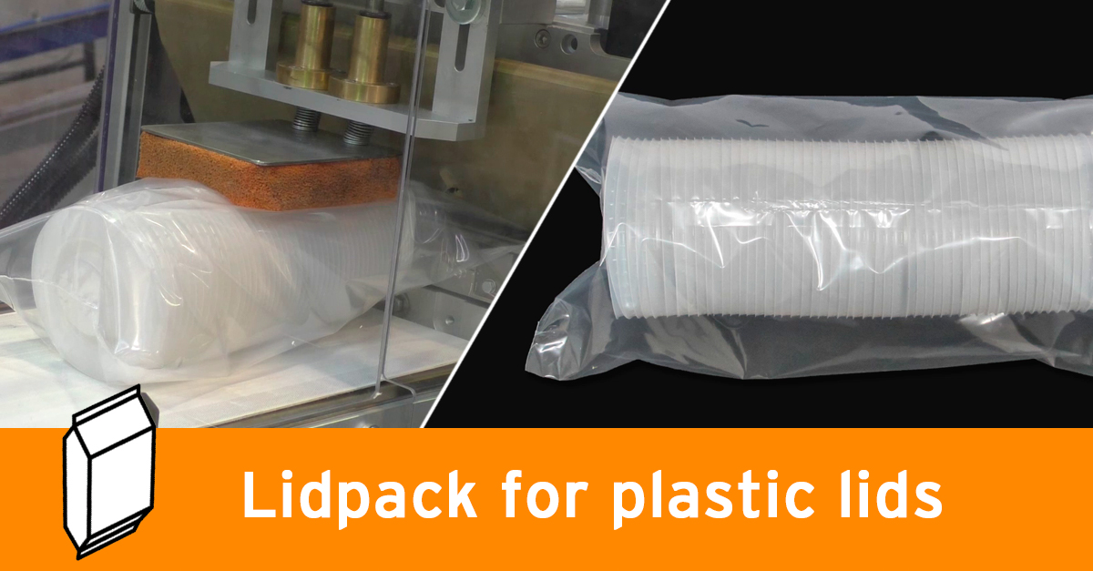 Video - Plastic lids packaging