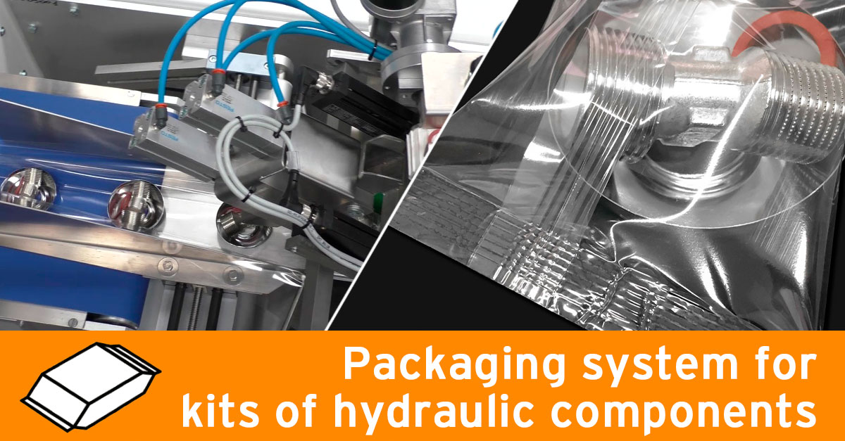 Packaging system for plumbing parts kits