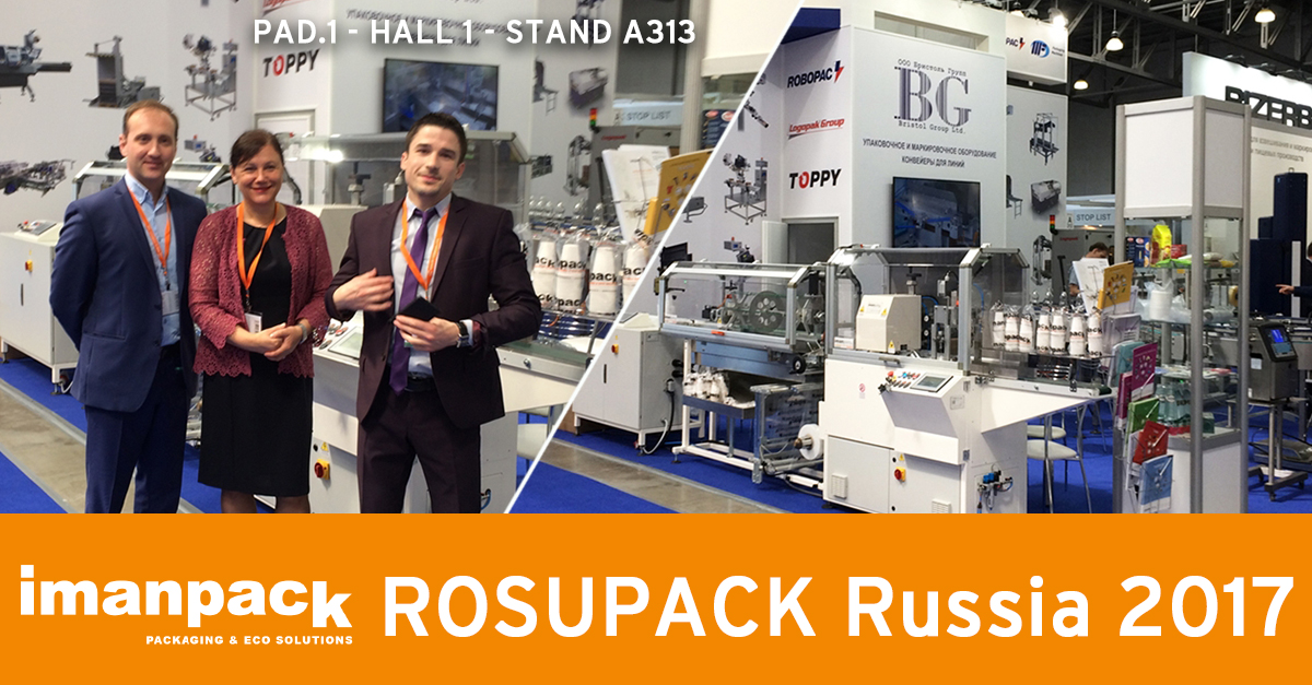 ROSUPACK RUSSIA 2017 starts today